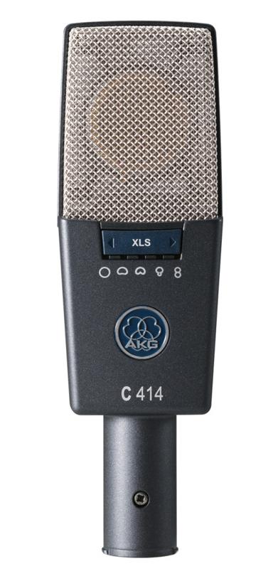 AKG サイドアドレス型マイクロホン C414 XLS【送料無料】
