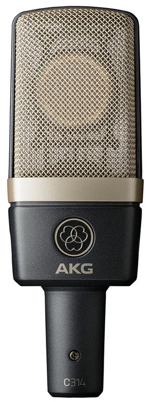 AKG サイドアドレス型マイクロホン C314【送料無料】, ふとん工場サカイ ed563880