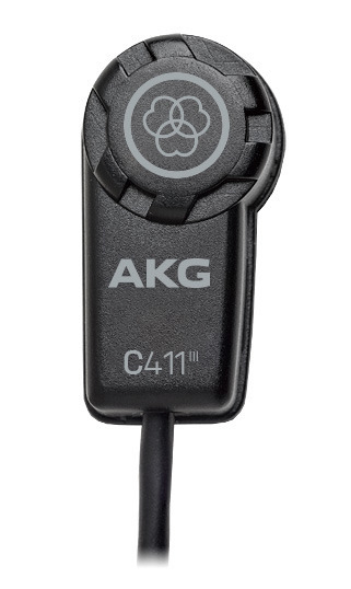 AKG 楽器用マイクロホン C411 L ※AKGワイヤレスシステム用【送料無料】