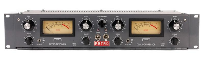 【超目玉】 RETRO Instruments Instruments デュアルチャンネルチューブコンプレッサー RETRO Revolver【送料無料】, ケースファクトリー:2812663c --- canoncity.azurewebsites.net