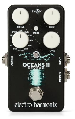 electro-harmonix OCEANS 11 Multifunction Digital Reverb【送料無料】