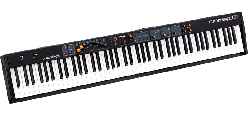 Studiologic スピーカー内蔵ステージピアノ 88鍵盤 Numa Compact 2x【送料無料】