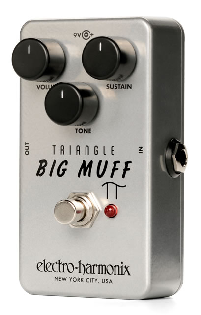 electro-harmonix Triangle Big Muff Pi Distortion / Sustainer【送料無料】