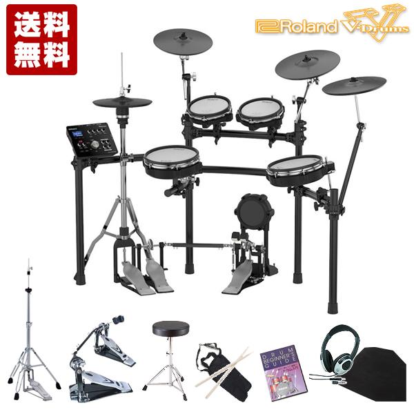 電子ドラム ローランド Roland V-Drums TD-25KV-S メガバリューセット TWIN【送料無料(離島を除く)】