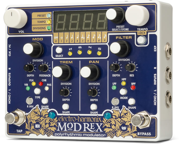 electro-harmonix Mod Rex / Polyrhythmic modulator【送料無料】