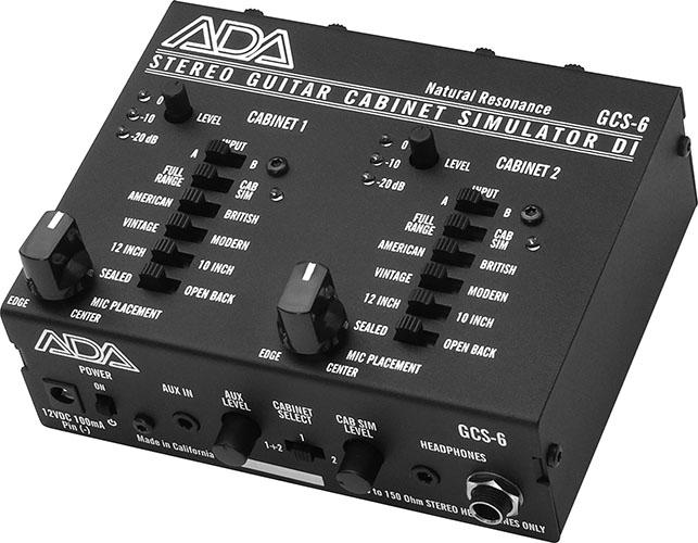 ADA GCS-6ステレオ・ギターキャビネット・シミュレーター【送料無料】