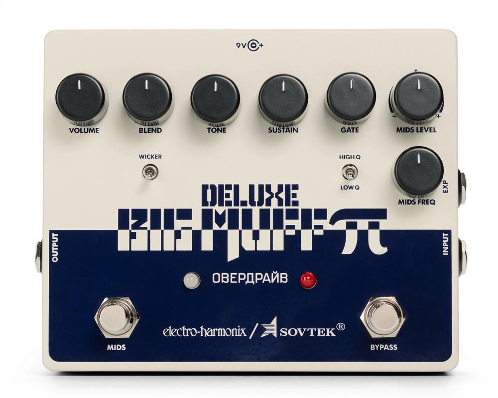 electro-harmonix Sovtek Deluxe Big Muff Pi / Distortion/Sustainer【送料無料】