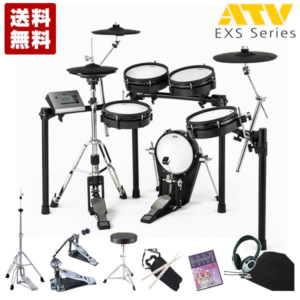 電子ドラム ATV EXS ATV Series EXS EXS-3 スターター ツインペダルセット スターター【送料無料】【品切れ中 次回入荷7月下旬予定 ご予約受付中】, アキタOUTLET:765ac719 --- officewill.xsrv.jp