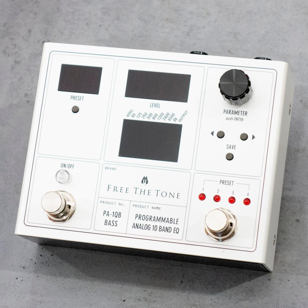 Free the Tone フリーザトーン PA-1QB (ベース用) PROGRAMMABLE ANALOG 10 BAND EQ【送料無料】