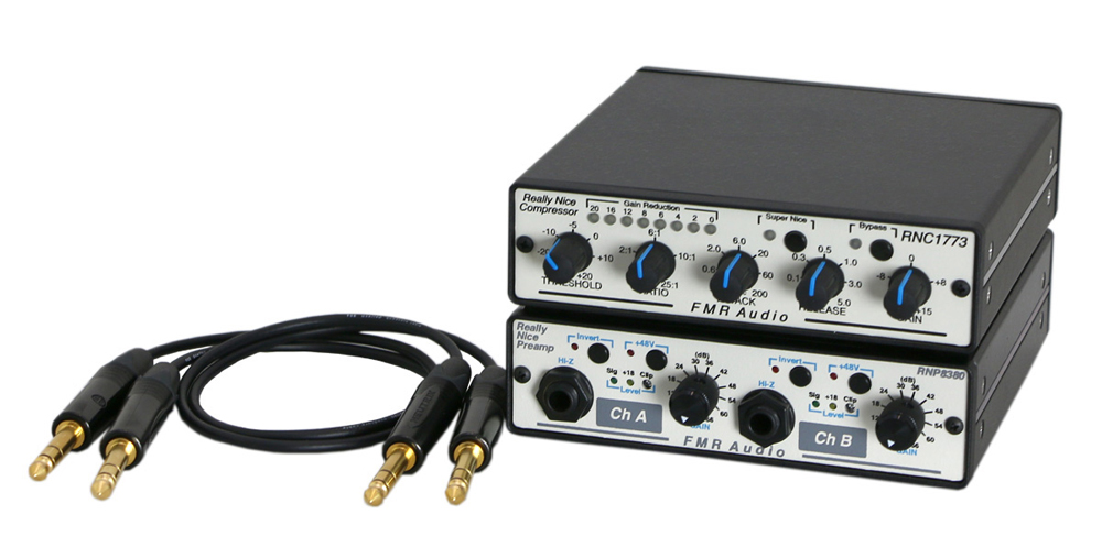 FMR AUDIO Really Nice Tracking Combo -RNP+RNC+TRS Insert cables-【送料無料】