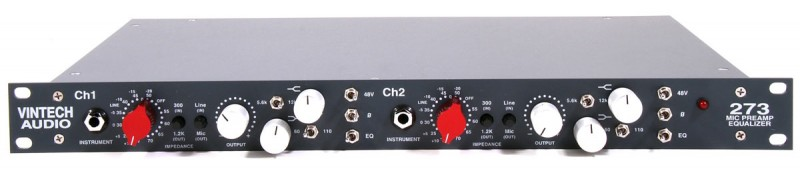 Vintech Audio Model 273 -2ch Neve H.A + Essential EQ-【送料無料】