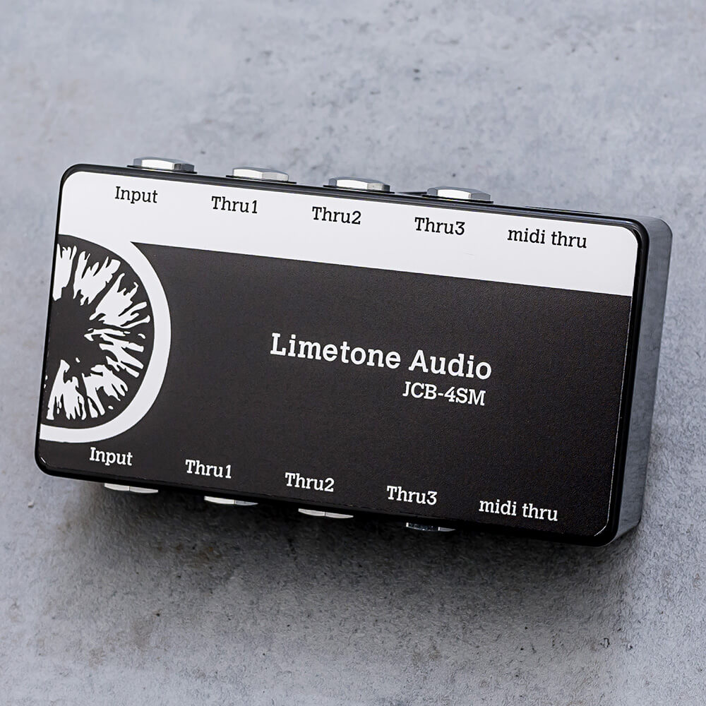 Limetone Audio JCB-4SM Black【送料無料】