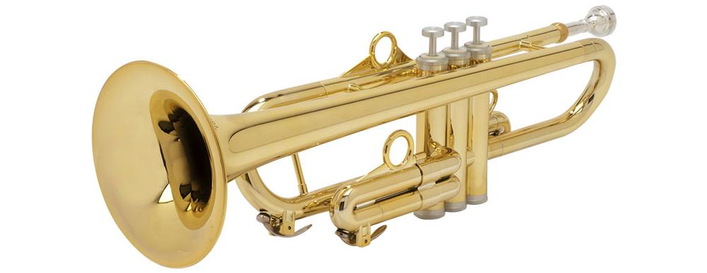 pInstruments プラスチック製トランペット PTRUMPET1HTG Gold【専用ケース付き】【送料無料】