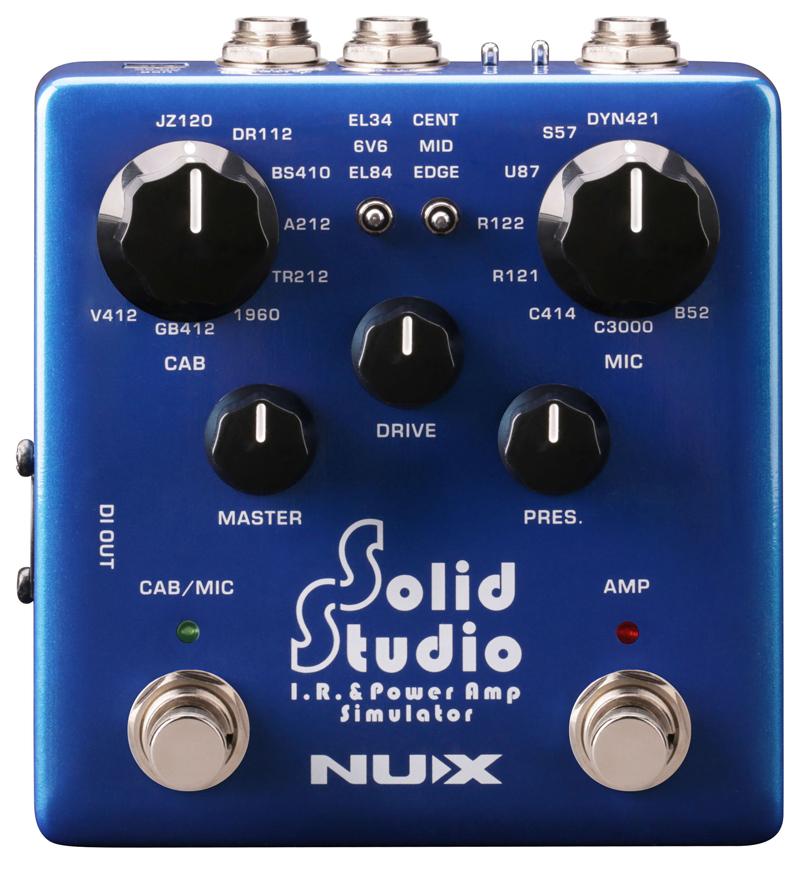 NUX エフェクター Solid Studio【送料無料】
