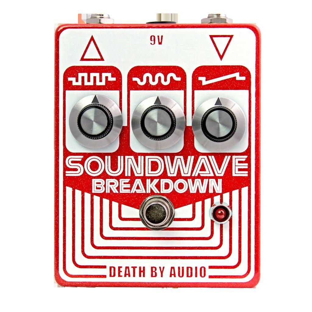 Death by Audio SOUNDWAVE BREAKDOWN -Backwards Transistor Fuzz-【送料無料】