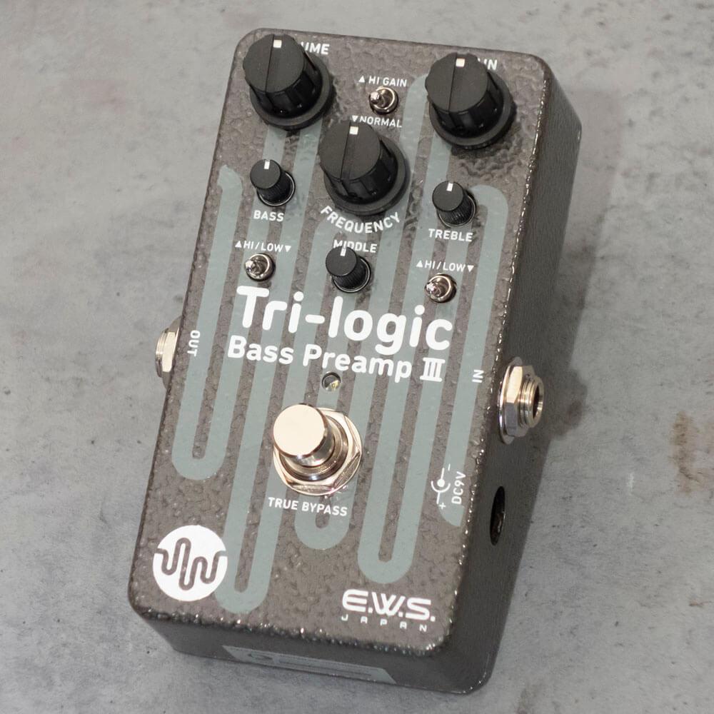 E.W.S. エフェクターTri-logic Bass Preamp 3