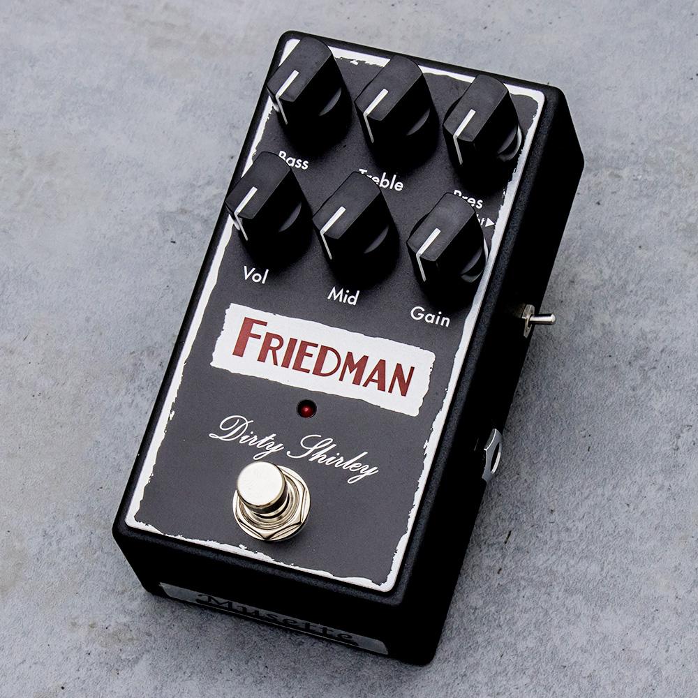 Friedman フリードマン オーバードライブ エフェクターDIRTY SHIRLEY 【送料無料】