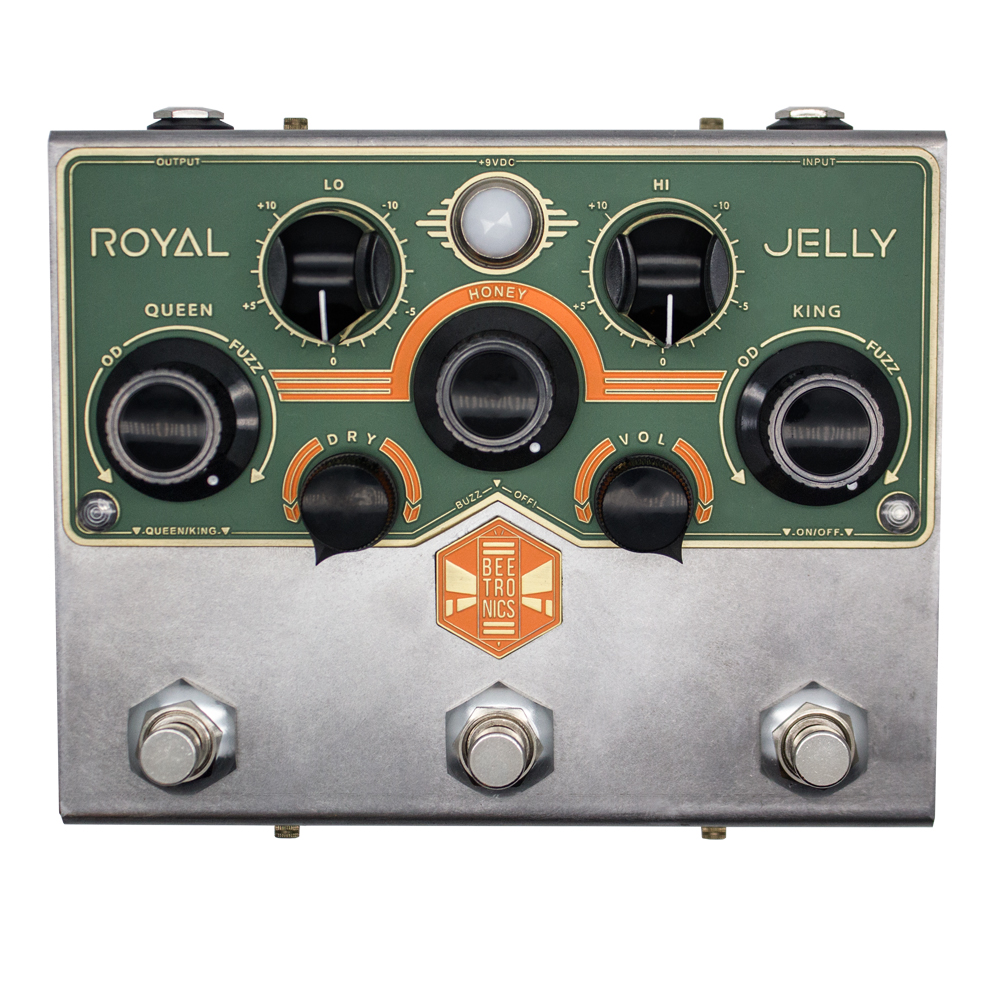 Beetronics ROYAL JELLY -Fuzz / OD Blender-【送料無料】