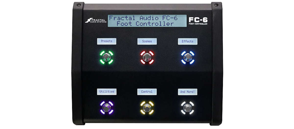 Fractal Audio Systems Axe-Fx III用フットコントローラー Fractal Audio Systems フラクタルオーディオ FC-6 Foot Controller 【送料無料】