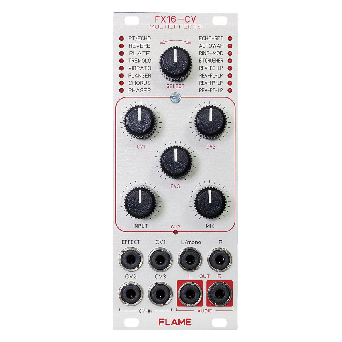 小型のデュアル・ピンガブル・トリガー・エンベロープ・モジュール FLAME FX16-CV -Multi Effect-【送料無料】