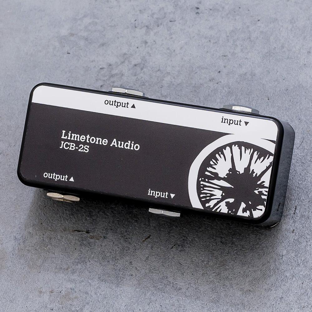 Limetone ライムトーン エフェクター 大幅にプライスダウン Audio ジャンクションボックスJCB-2S 予約販売 Black