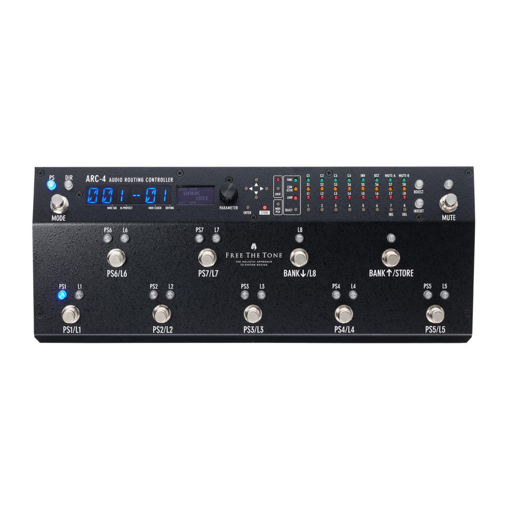 【即納可能】Free The Tone フリーザトーン ARC-4 Audio Routing Controller【送料無料】【あす楽対応_関東】