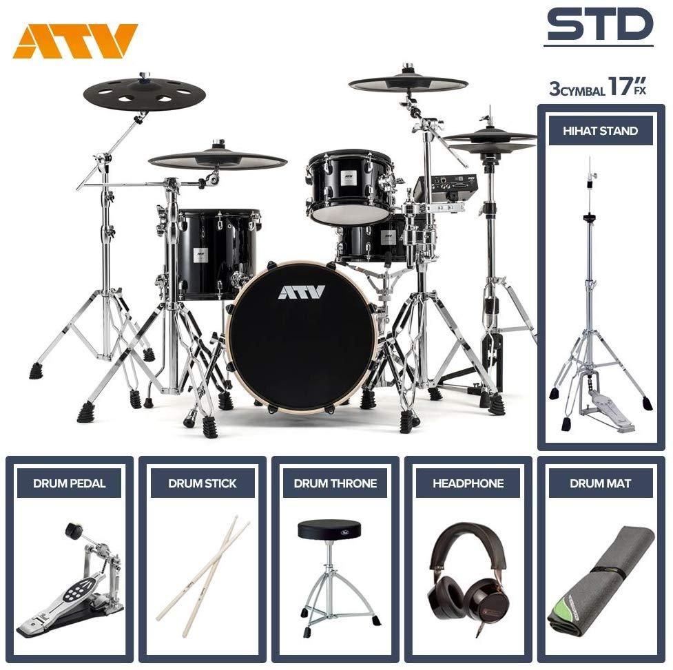 電子ドラム ATV aDrums artist STANDARD SET ADA-STDSET 3Cymbal フルオプションセット (17