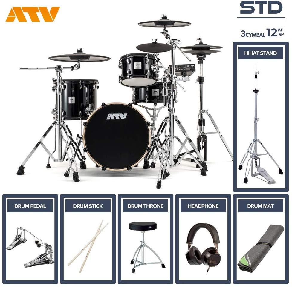 電子ドラム ATV aDrums artist STANDARD SET ADA-STDSET 3Cymbal フルオプションセット (12