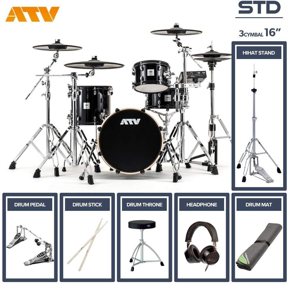 電子ドラム ATV aDrums artist メーカー公式 STANDARD SET 16