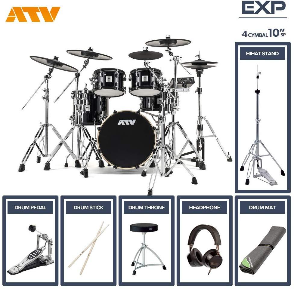 電子ドラム ATV aDrums artist EXPANDED SET ADA-EXPSET 4Cymbal フルオプションセット (10