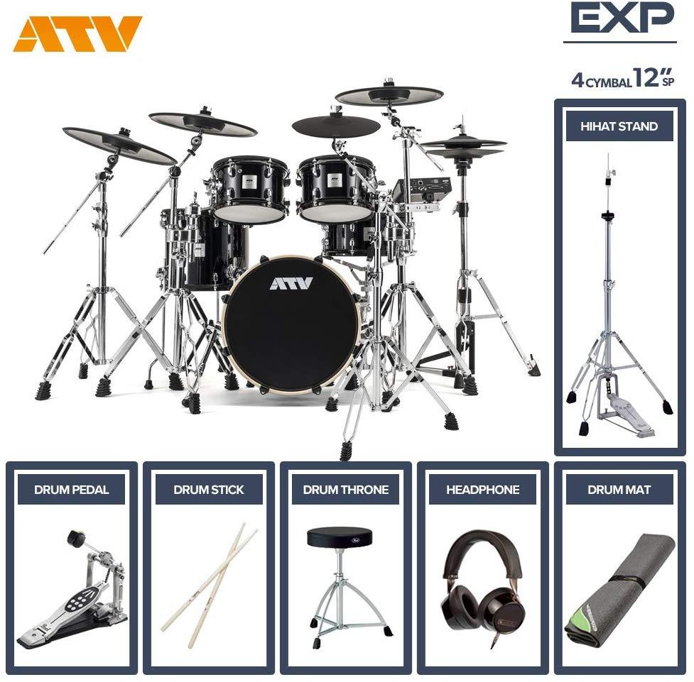 【次回10月以降入荷予定 ご予約受付中】電子ドラム ATV aDrums artist EXPANDED SET ADA-EXPSET 4Cymbal フルオプションセット (12