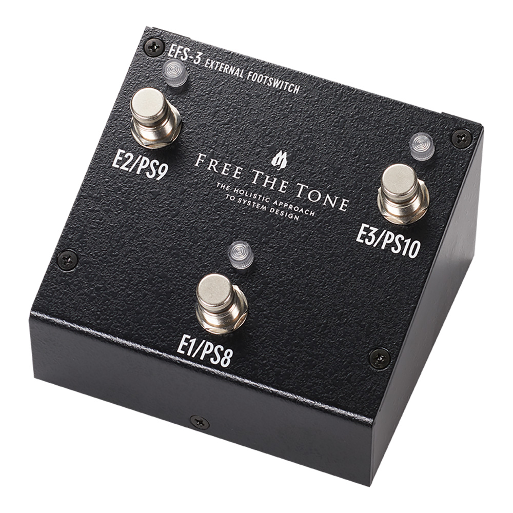 Free The Tone フリーザトーン EFS-3 EXTERNAL FOOTSWITCH【送料無料】