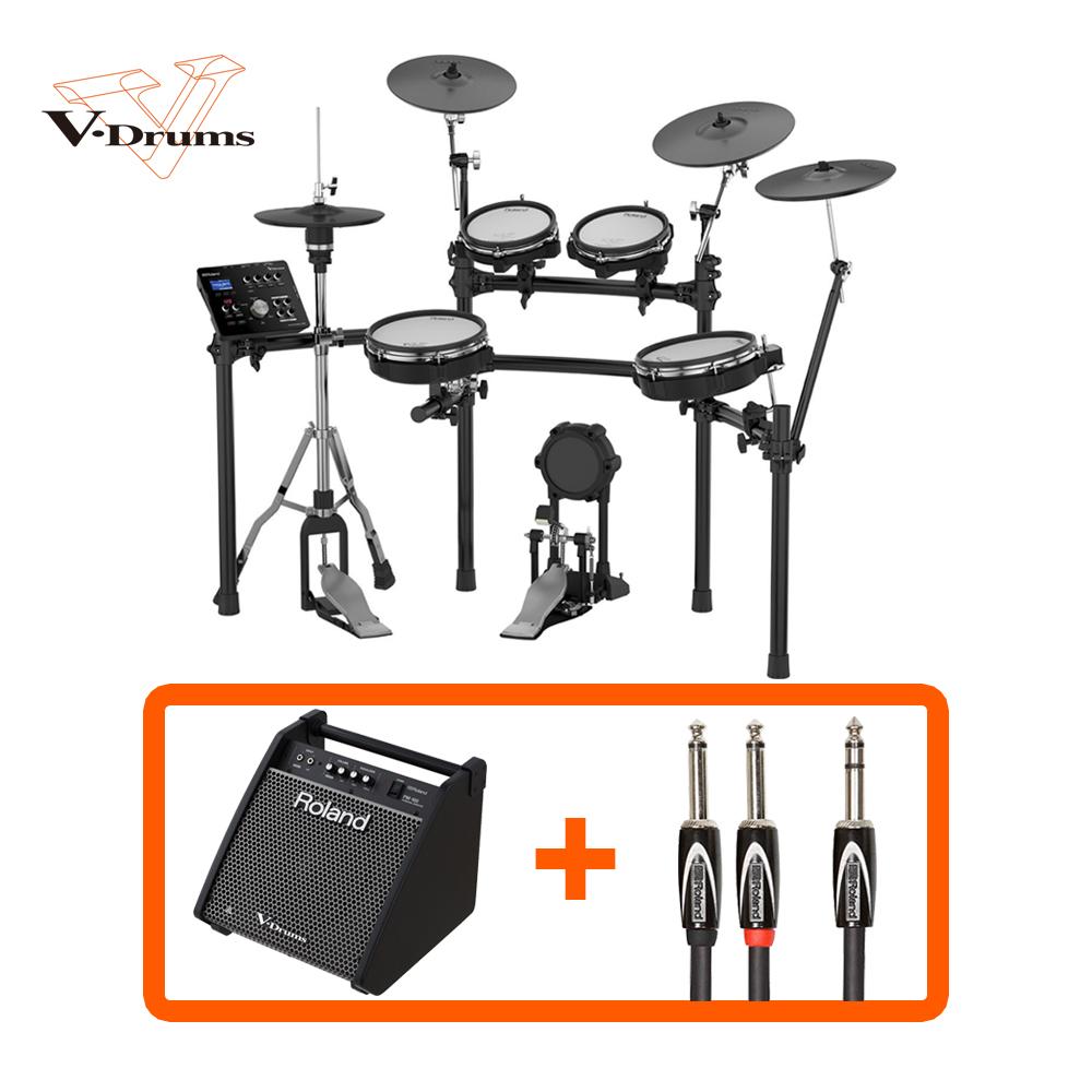 電子ドラム ローランド Roland V-Drums TD-25KV-S PM-100 スピーカーセット (ハイハットスタンド、ペダル別売り)【送料無料(離島を除く)】