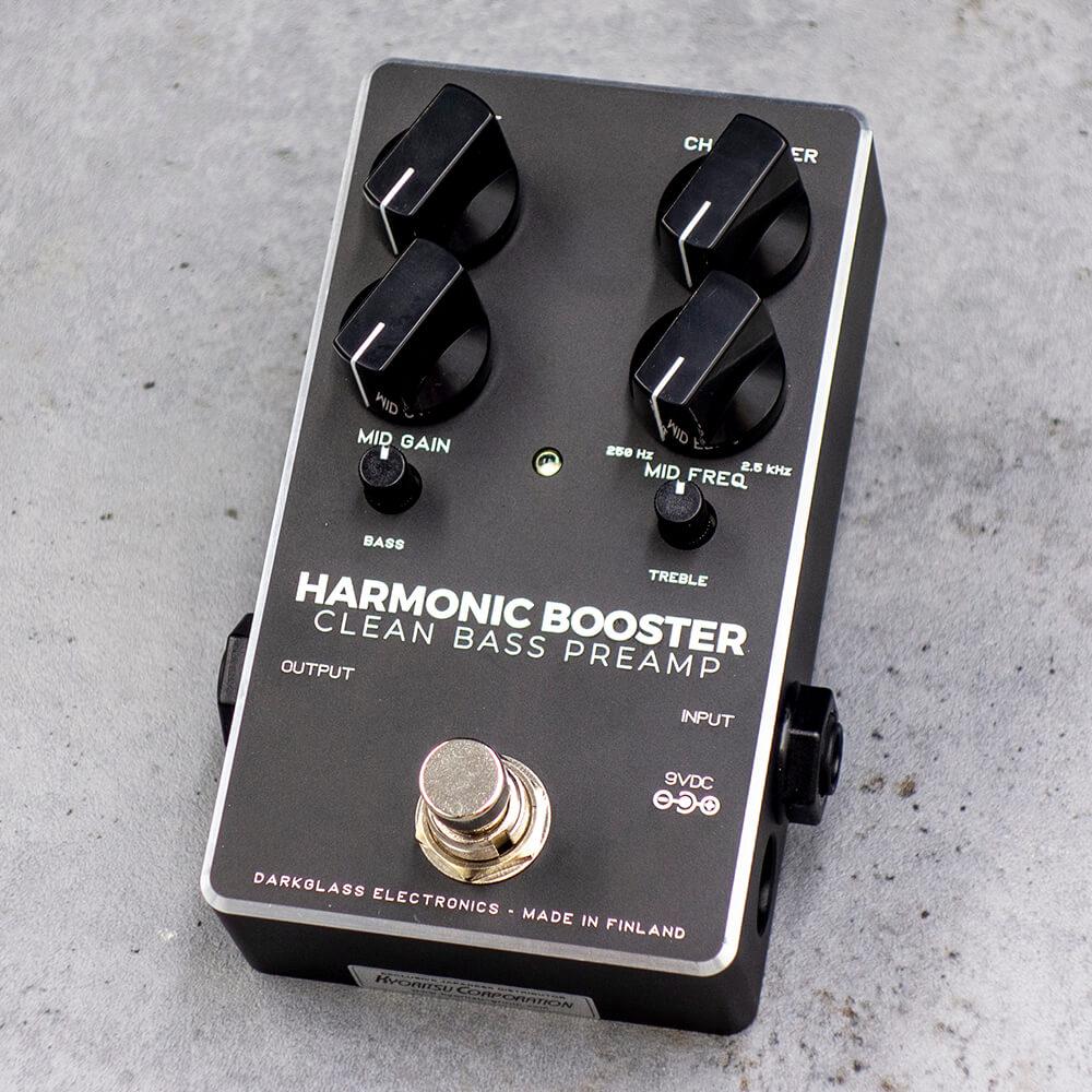 倍音のコントロール技術とフィルタリング技術を応用したブースター。 Darkglass Electronics Harmonic Booster 2.0【送料無料】