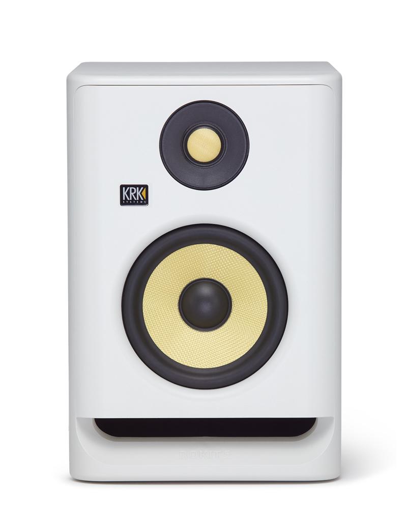人気ブランド ROKITパワードスピーカーの第4世代モデル 2ウェイ パワードスピーカー,5インチ ウーファー メーカー公式 KRK ROKIT 1本 ホワイトカラー バージョン RP5G4WN G4シリーズ