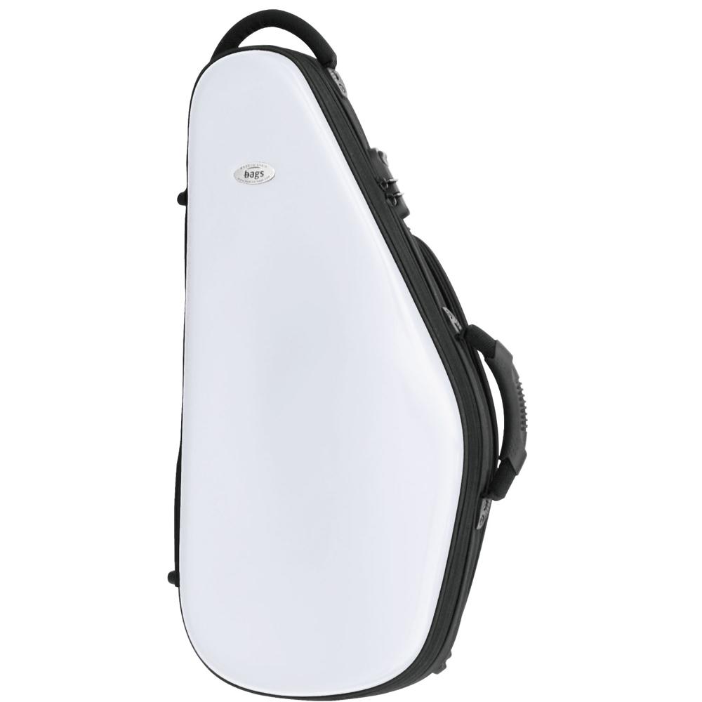 bags アルトサックス用ファイバーケース EFAS WHT【送料無料】