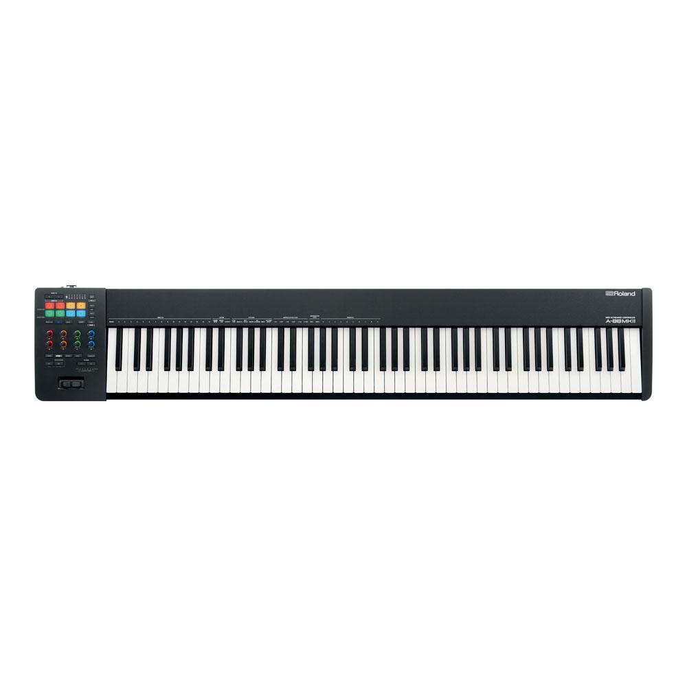 ミュージシャンや音楽プロデューサーの制作環境に必要なツールを搭載し 最高峰の演奏性能を叶えるMIDIキーボード Roland A-88MKII クリアランスsale!期間限定! KEYBOARD 激安通販専門店 CONTROLLER 送料無料 MIDI
