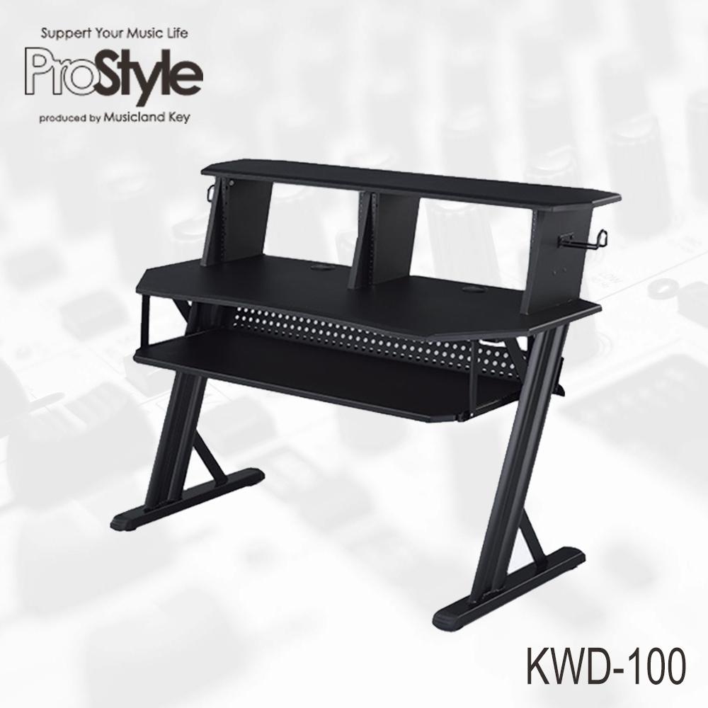 ProStyle ホーム レコーディング テーブル KWD-100 BLACK Home Recording Table【送料無料】【大型商品につき代引不可】