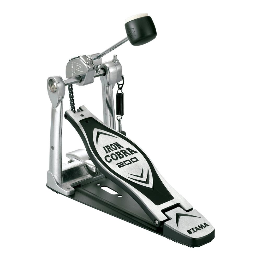 ドラム ペダル タマ シングルペダル TAMA HP200P Iron 買物 Cobra メーカー公式ショップ 200 Single Pedal Power Glide