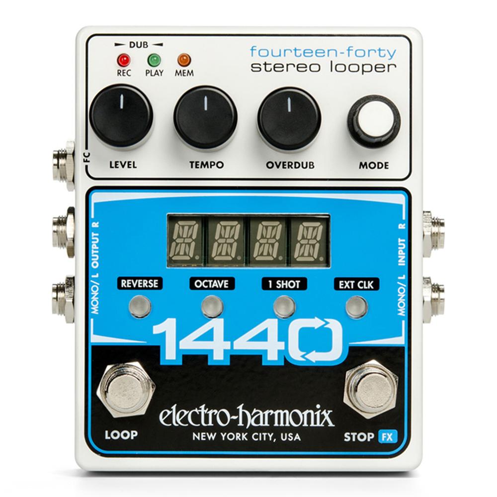 electro-harmonix 国内正規総代理店アイテム 入荷予定 エフェクター ルーパー Looper Stereo 1440