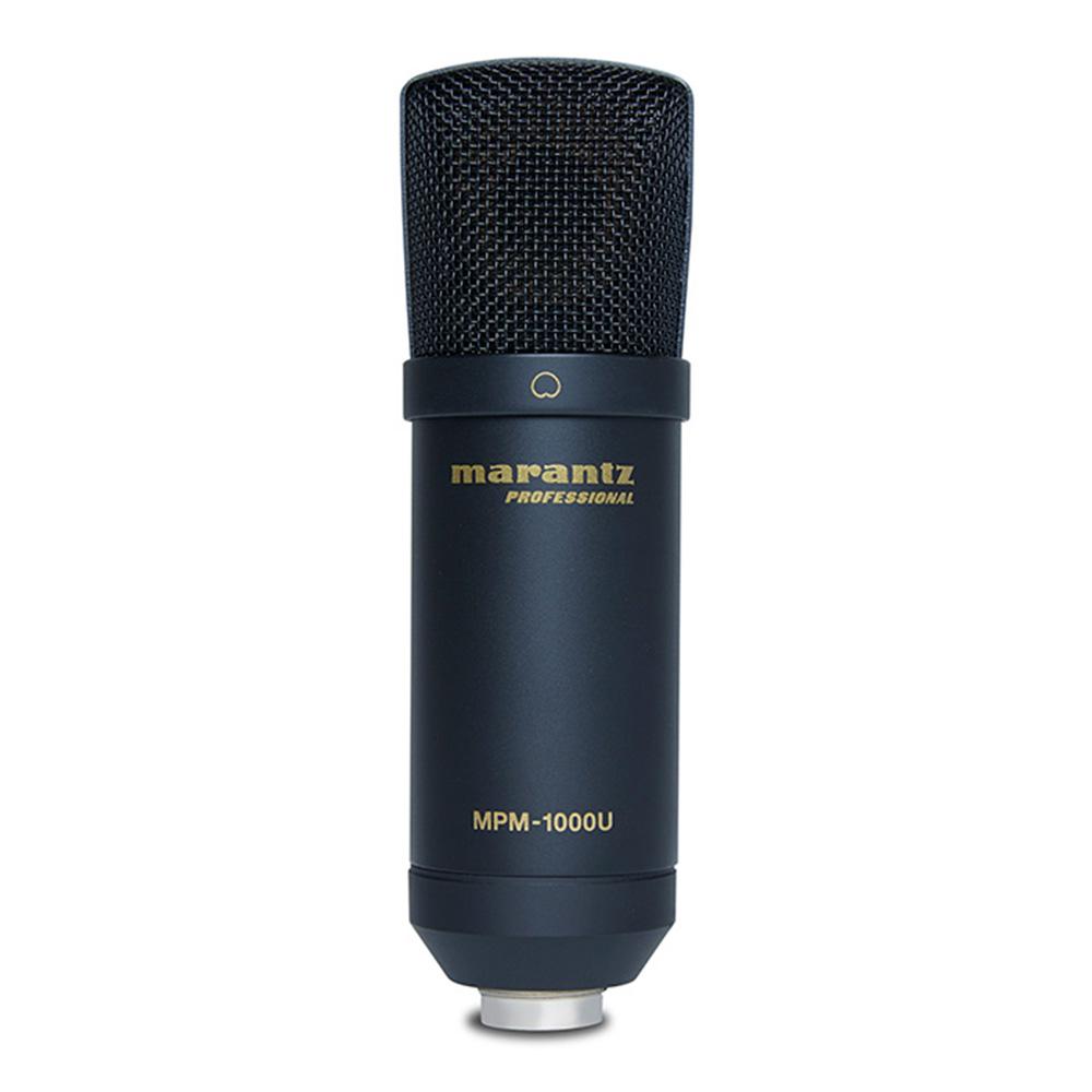DAWでのレコーディングやポッドキャスティングに最適なUSBコンデンサーマイクロホン marantz Professional MPM-1000UJ USBコンデンサーマイク 売り込み ☆送料無料☆ 当日発送可能