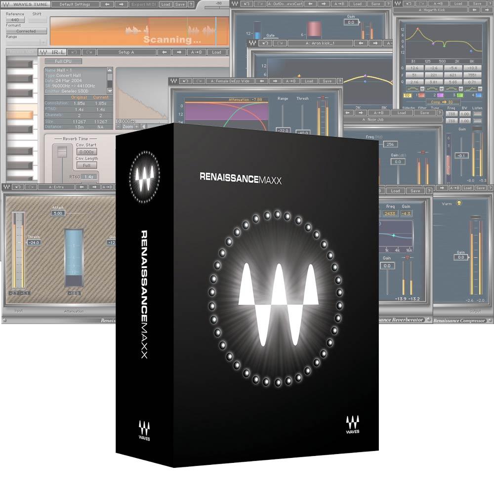 <title>クラシックなヴィンテージ サウンドと 理想的なコントロール WAVESRenaissance Maxx メール納品 訳あり商品</title>