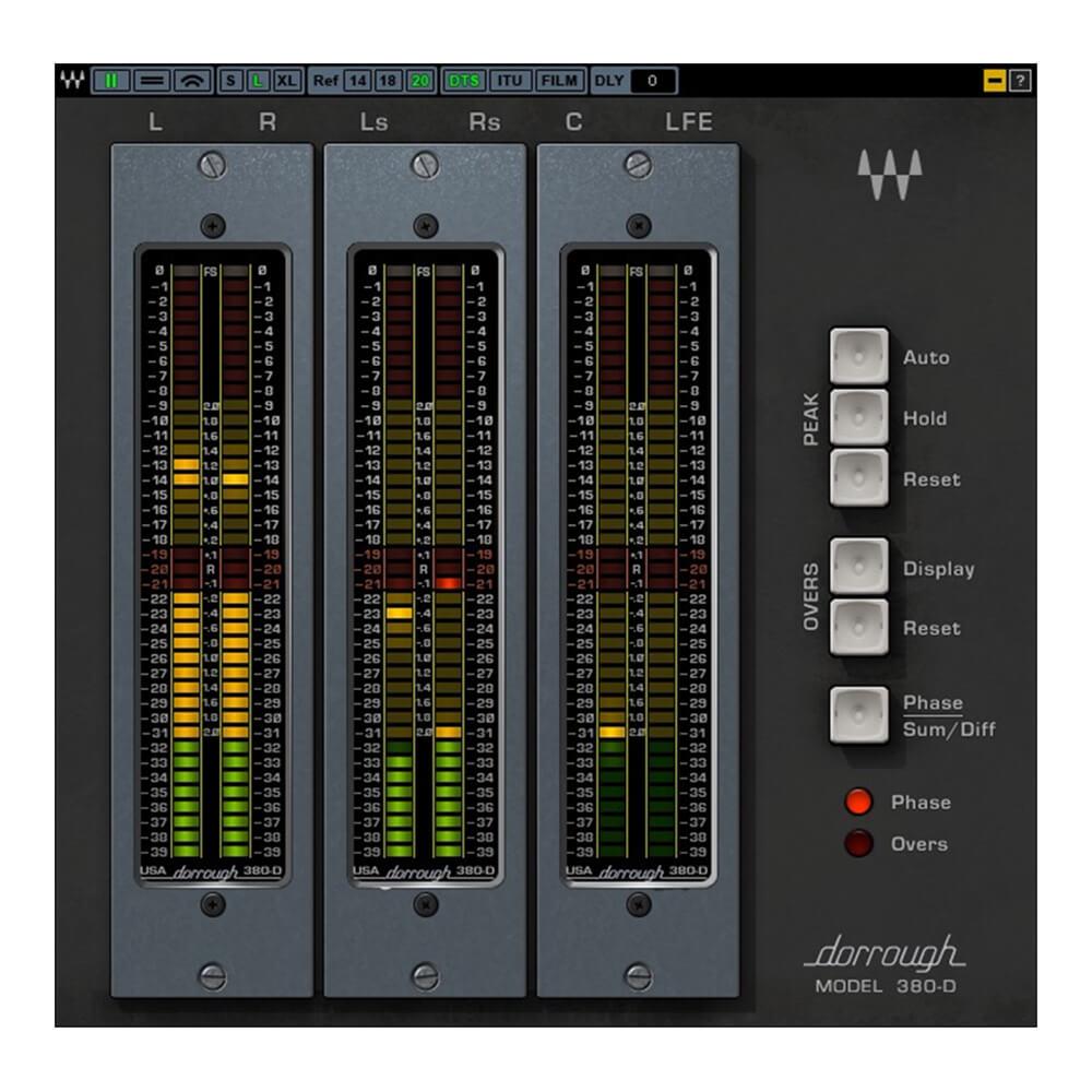 商い Dorrough Electronics協力の元 同社ハードウェアメーターをサラウンド対応で完全再現 Surround WAVESDorrough メール納品 最新号掲載アイテム
