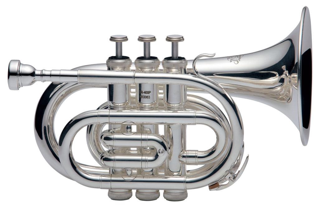 ポケットトランペット 管楽器 金管楽器 ジェイマイケル 激安セール 新作送料無料 TR-400PSL シルバー 送料無料 J.Michael
