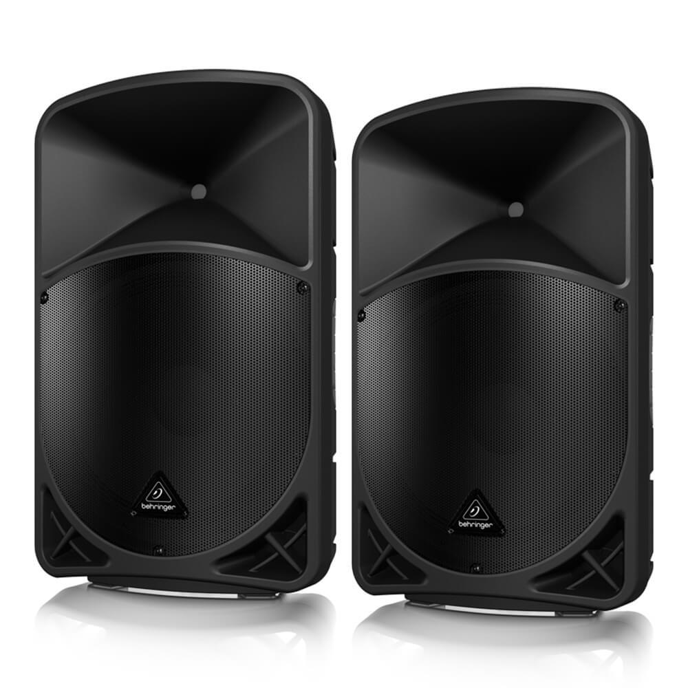 特価品コーナー☆ 3chデジタルミキサーを内蔵し Bluetoothによるワイヤレス操作 音楽再生が可能な15インチ 送料無料/新品 2-Wayパワードスピーカー B15X BEHRINGER EUROLIVE ペア