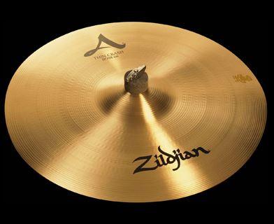 Zildjian ジルジャン シンバル A.Zildjian Medium Thin Crash/17 【送料無料】