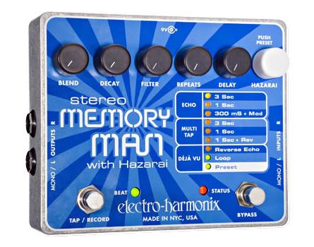 【新作入荷!!】 electro-harmonix Stereo Memory Man Memory with Man Hazarai【送料無料 with】, アジア雑貨店ワルンチャンプール:661517e5 --- bibliahebraica.com.br