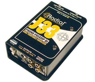Radial J33 【送料無料】