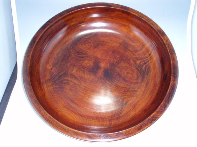現品・・・栃そばこね鉢尺7.5(Φ53.5)ロクロ彫、拭漆 kr175-01