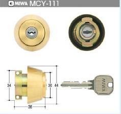 MIWA LAシリンダー 即納送料無料 MCY-111 国内在庫